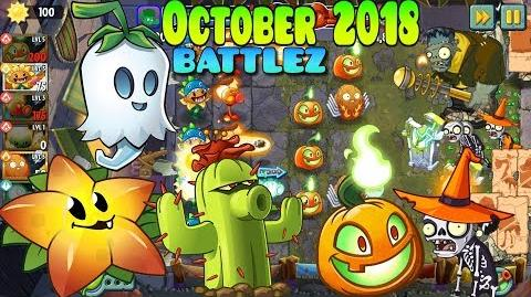 Plants vs. Zombies 2 - BATTLEZ October 2018 - Lawn of Doom BATTLEZ (Ep.382)