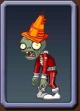 Future Conehead Zombie Icon2