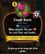 Tough Beets description
