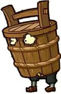 Unused Zombie In A Barrel