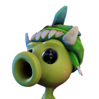 Icon PeaShooter HeadProp KnitMonster Large