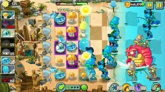 Plants vs. Zombies 2 - Tiki Torch-er - Level 149