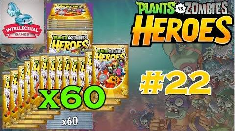 Plants vs Zombies Heroes Part 22 Open 60 Premium Packs