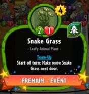 Beta Stats Snake Grass