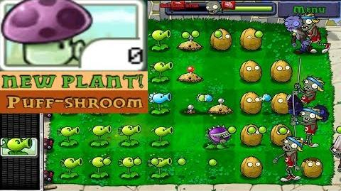 Plants vs. Zombies Adventure New Plant Puff-Shroom level 1-10 Day (Android Gameplay HD) Ep
