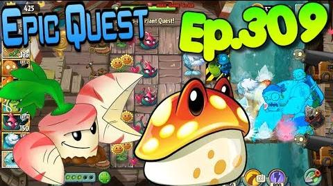 Plants vs. Zombies 2 Leveled-Up Plants! Pirate Seas - Epic Quest (Ep