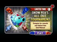 Snow Pea's All-Out Tournament