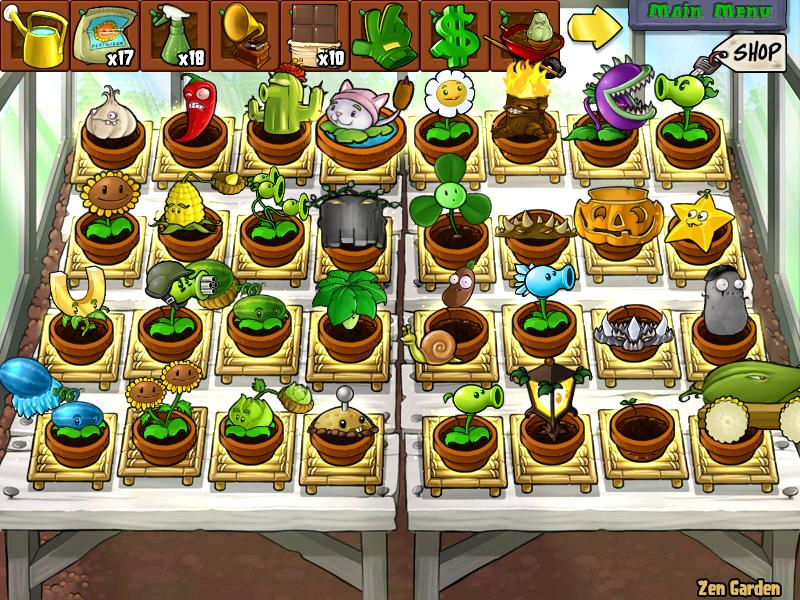 User blog dung dinh anh welcome to the death a party for Jardin zen plantas vs zombies
