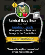 Admiral Navy Bean description
