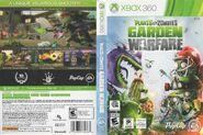 Plantsvs.ZombiesGardenWarfare Xbox360 Boxart(Full)