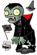 Zombie and special items Halloween 2014 Fanmade