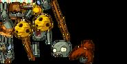 Beehive Thrower Zombie PvZAS Sprites