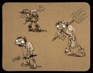 Farm zombie pitchfork sheet 2 - ArtofReanimPvZ2