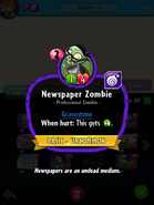 Newspaper Zombie (PvZH)