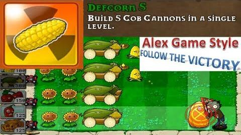 Plants vs. Zombies - Achievement - Defcorn 5 (Android Gameplay HD) Ep