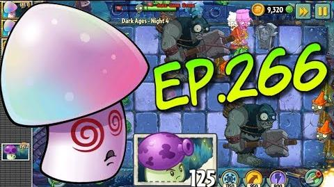 Plants vs. Zombies 2 Got a new Plant Fume-shroom - Dark Ages Night 4 (Ep