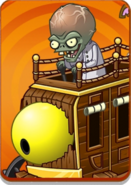 Zombot War Wagon in Volcano Level Icon