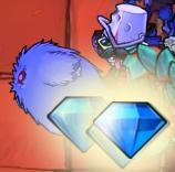 Drops diamonds