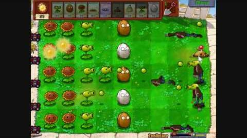 Plants Vs Zombies (MINIGAME) Zombotany HD