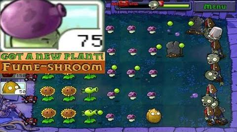 Plants vs. Zombies Adventure Got a Fume-Shroom level 2-2 Night (Android Gameplay HD) Ep