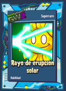 Rayo erupsion solar g12