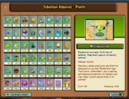 PVZ 1 Plants Almanac modded - Peashooter
