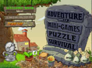 PvZ 1 Main Menu modded 2