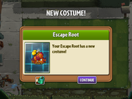 Getting Escape Root's First Costume