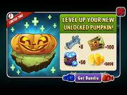 Level Up Pumpkin Ad
