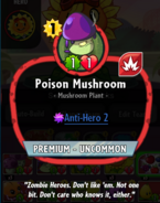 Poison Mushroom description