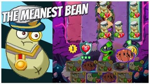 Admiral Navy Bean- The Meanest Bean of Them All Plants vs Zombies Heroes Gameplay