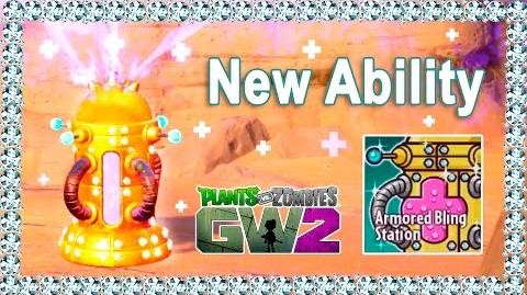 Armored Bling Station (Scientist) in Plants vs Zombies Garden Warfare 2