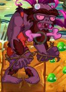 Hypnotized Jurassic Rockpuncher Zombie