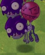 Poisoned Big Brainz Balloon Zombie
