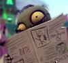 Zombie z gazetą GW2