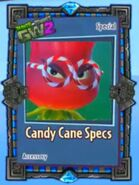 Candy Cane Specs card