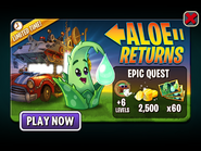 Epic Quest - Aloe Returns Ad