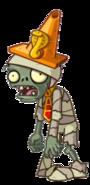 HD Mummy Conehead Zombie