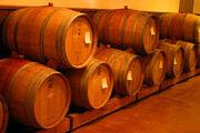 Lightmatter wine barrels