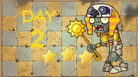 -Android- Plants vs. Zombies 2 Chinese - Ancient Egypt Day 2