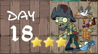 Android Plants vs. Zombies All Stars - Pirate Seas Day 18
