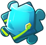 Blue Bucket Puzzle Piece Level 2