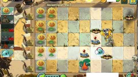 PvZ2 - Land War Challenge Level