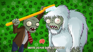 Toothbrush zombie brush