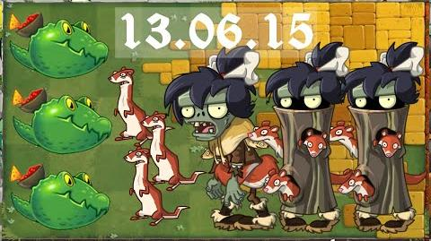 -Android- Plants vs. Zombies 2 - Lost City Piñata Parties (13.06.2015)