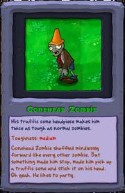 Almanac Card Conehead Zombie
