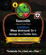Guacodile Heroes description