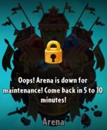 Arena Maintenance