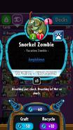 Snorkel Zombie stats