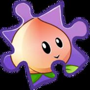 Peach Puzzle Piece